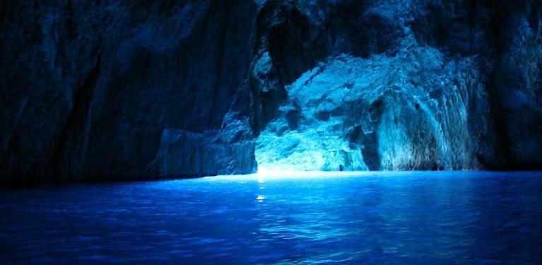grotte bleue Biševo croatie