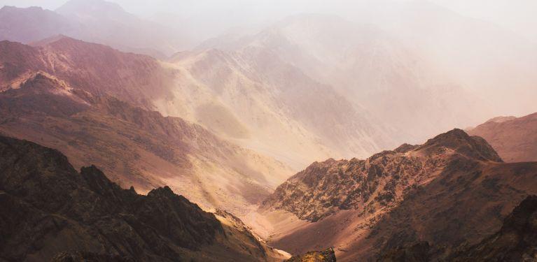 trail marrakech maroc atlas