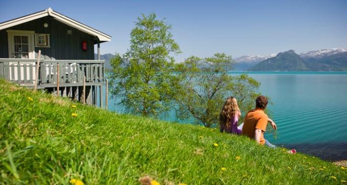Autotour dans les régions des fjords en Norvège