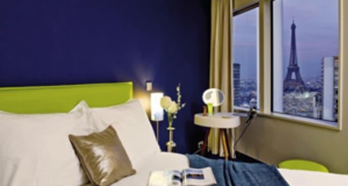 Option Hôtel 2 : Apparthotel Tour Eiffel (hébergement classé équivalent 4*)