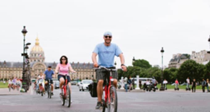 Option activité 5 : Découvrez Paris à vélo ! - Expérience sportive et en famille (à partir de 31€/pe