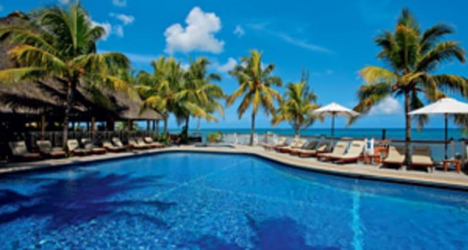 Option hôtel 1 : Merville Beach - Grand Baie ***sup