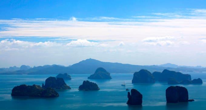Bangkok et le golfe d'Andaman