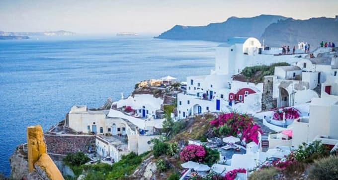 Combiné 3 îles grecques
