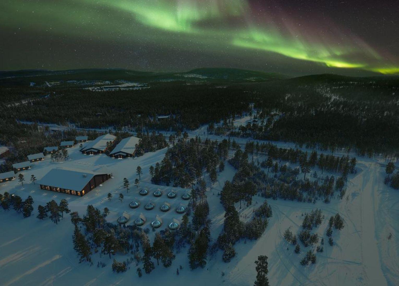 Wilderness hotel inari finlande laponie