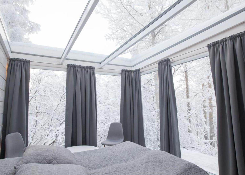 Sollia aurora park norvège laponie hôtel