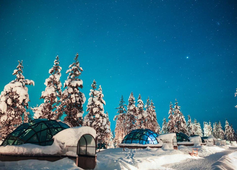 Kakslauttanen Arctic Resort Laponie Finlande Hôtel