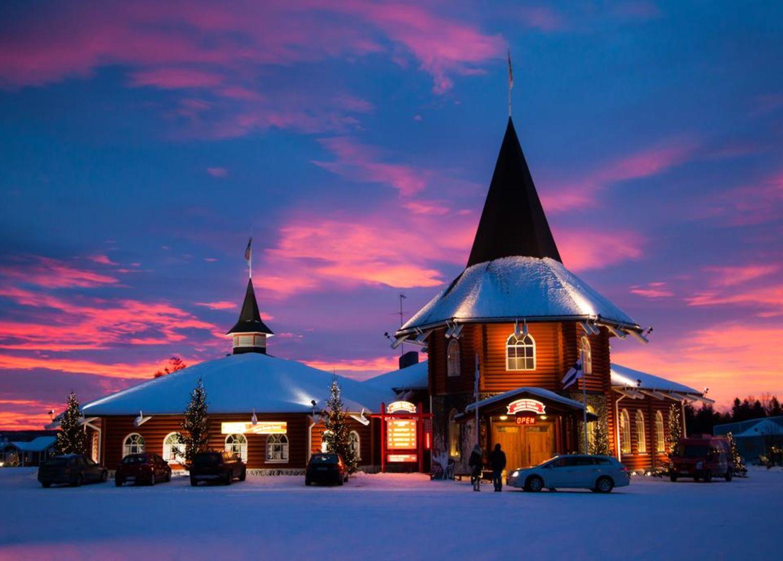 Santa Claus Holiday Village Hôtel Laponie Finlande