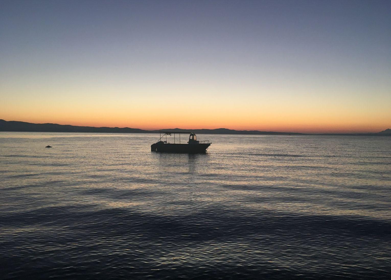 Kassandra grèce coucher de soleil magnifique