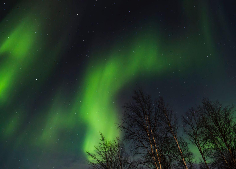 laponie aurores boréales