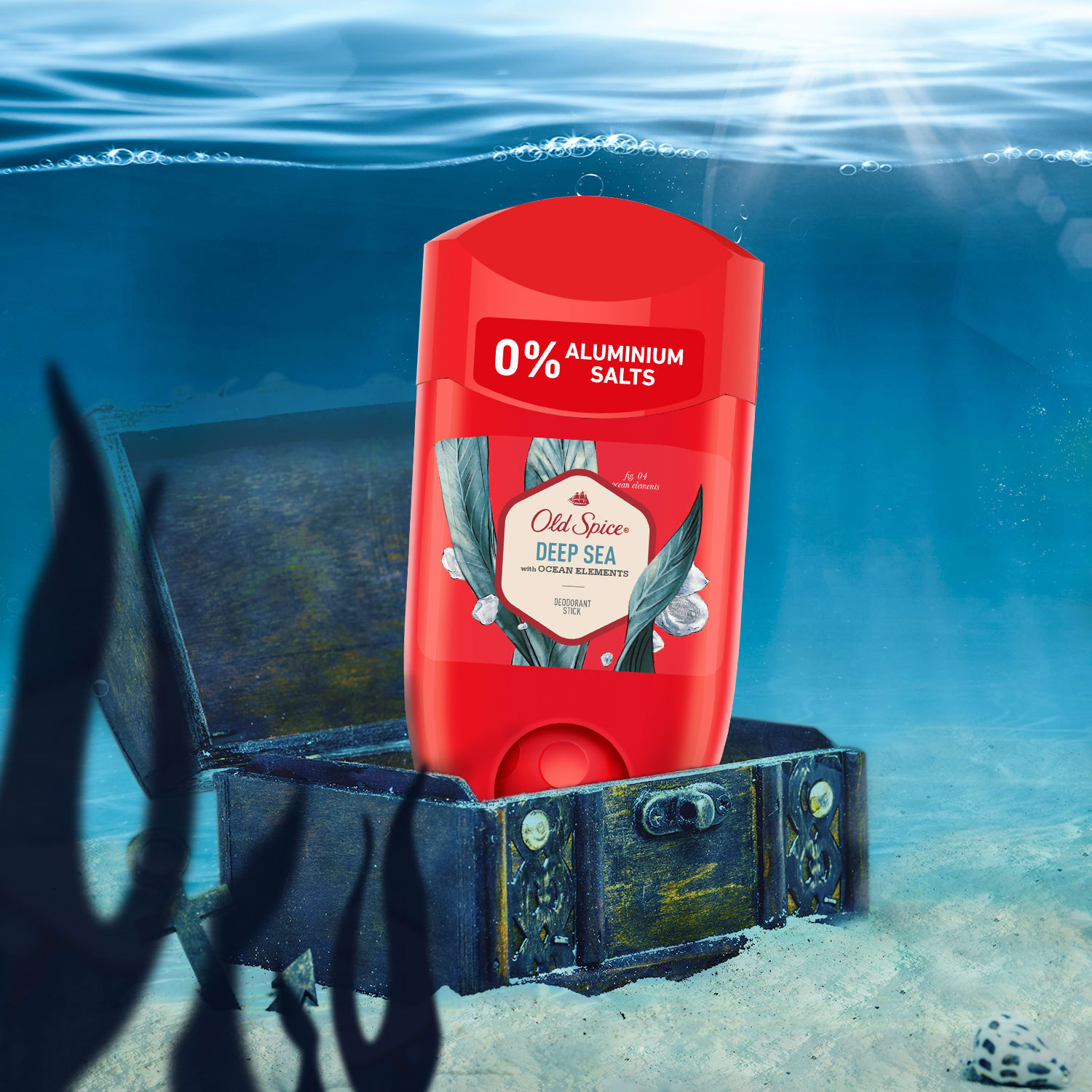 Deodorant Stick Old Spice Deep Sea