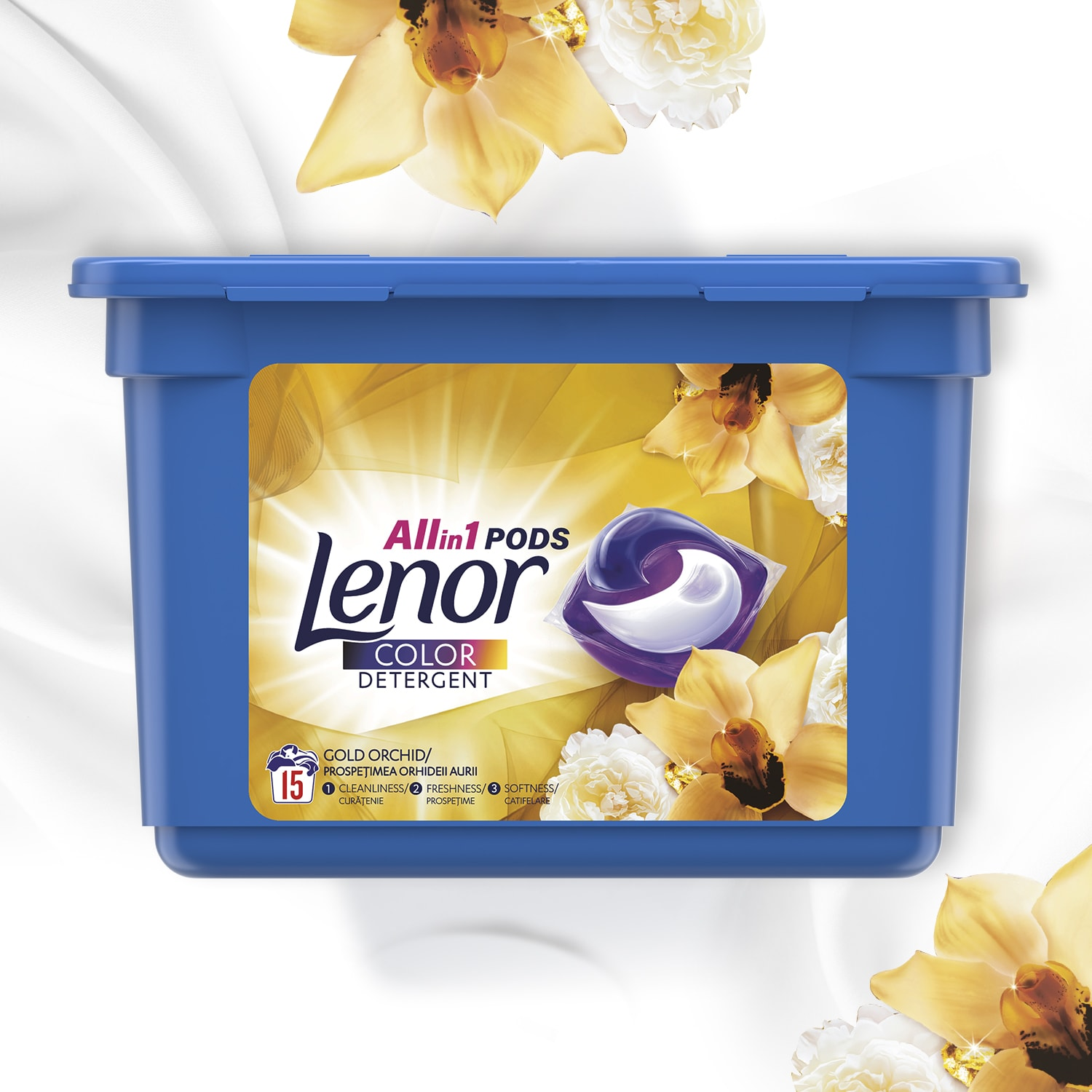 Detergent Lenor Allin1 PODS Gold Orchid