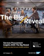 Services Procurement Insights 2019: The Big Reveal