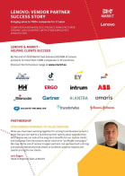 Lenovo: Vendor Partner Success Story