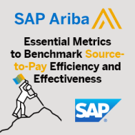 Essential Metrics to Benchmark Source-to-Pay Efficiency and Effectiveness