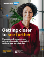 Procurement Insights Research: Procurement can embrace advanced analytics to predict and manage supplier risk
