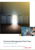 Contract Management Part Two: Identifying Opportunities