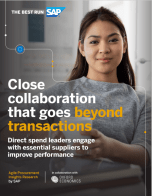 Procurement Insights Research: Direct spend leaders engage with essential suppliers to improve performance