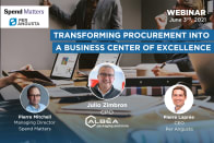 Transforming Procurement into a Business Center of Excellence