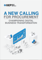 A New Calling for Procurement: Championing Digital Business Transformation