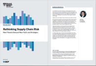 Rethinking Supply Chain Risk: New Threats Demand New Tools and Strategies