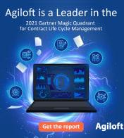 Agiloft a Leader in 2021 Gartner Magic Quadrant for Contract Life Cycle Management