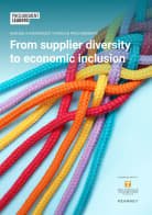 Making a difference through procurement: From supplier diversity to economic inclusion