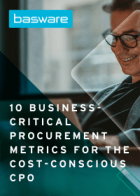 10 Business Critical Procurement Metrics for the Cost-Conscious CPO