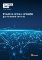 Delivering simple, coordinated procurement services