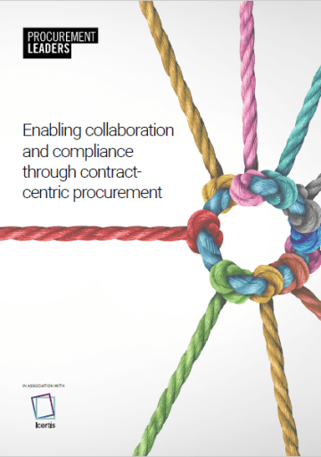 Enabling Collaboration And Compliance Through Contract-Centric Procurement