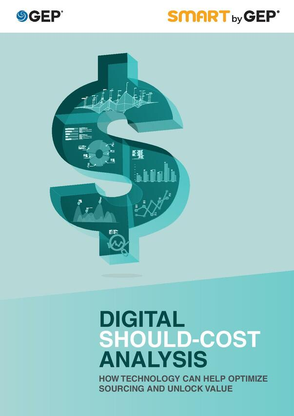 Digital Should-Cost Analysis: How Technology Can Help Optimize Sourcing and Unlock Value