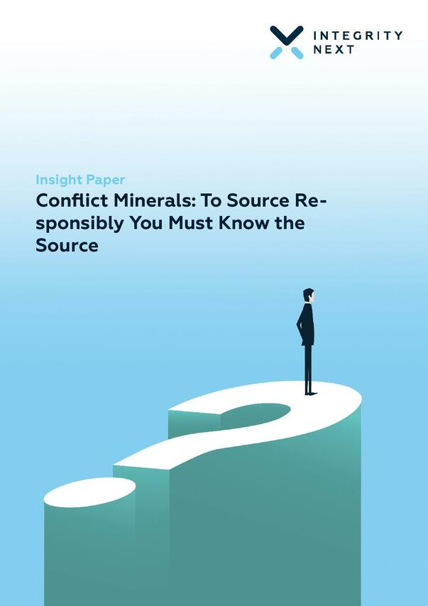 Conflict Minerals: To Source Responsibly You Must Know the Source