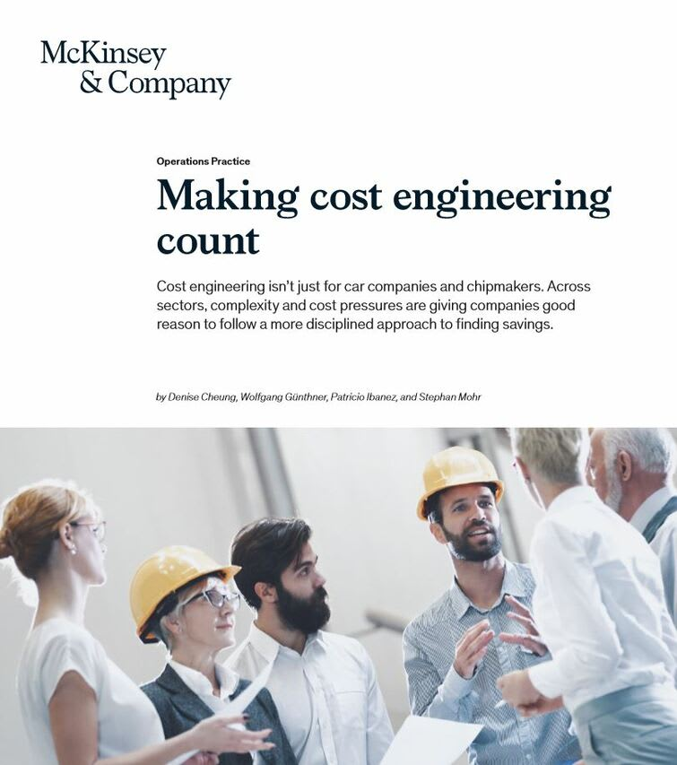 Making cost engineering count