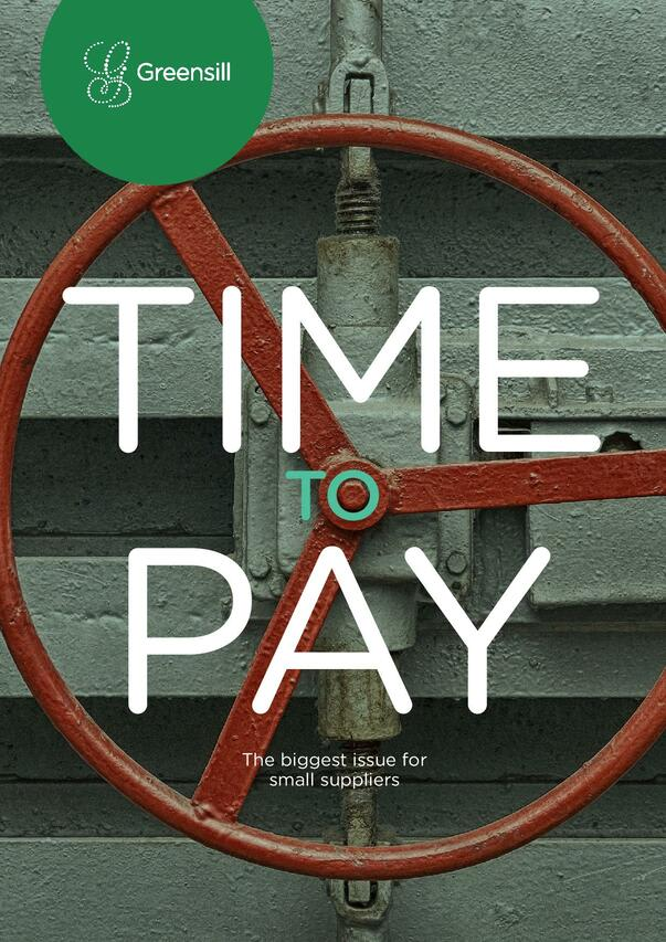 Time to Pay: The Biggest Issue for Small Suppliers