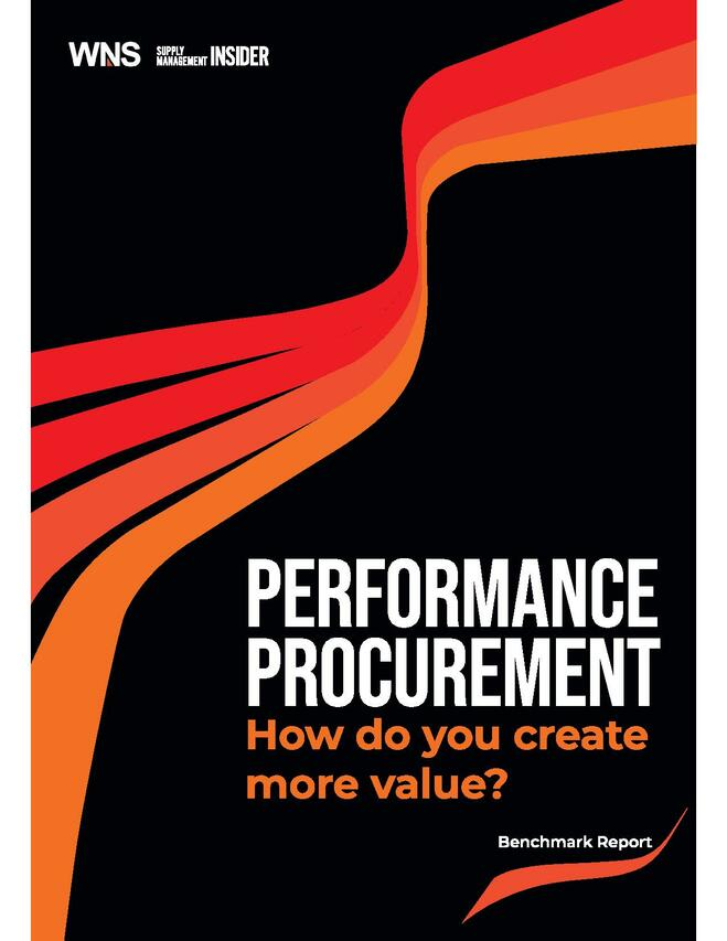 Performance Procurement – How do you create more value?