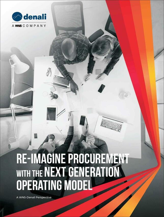 Re-imagine Procurement With the Next Generation Operating Model