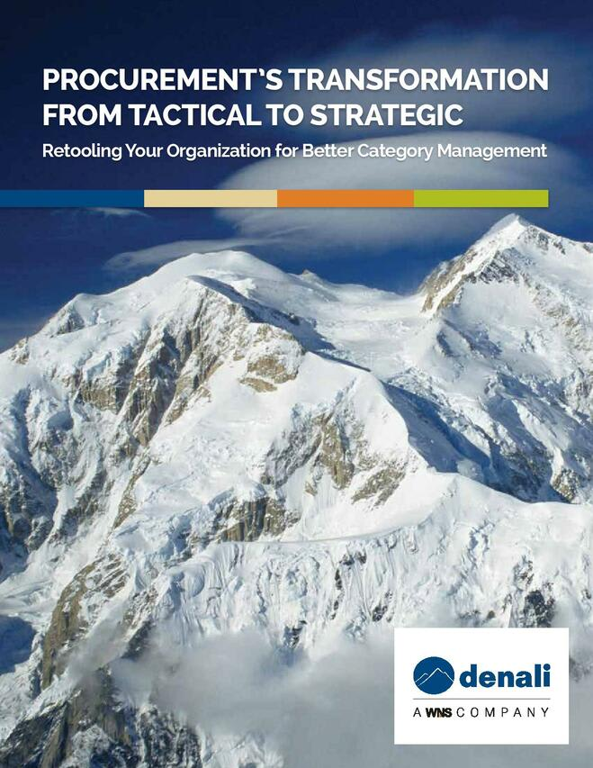 Procurement's Transformation from Tactical to Strategic