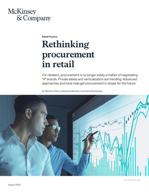 Rethinking procurement in retail