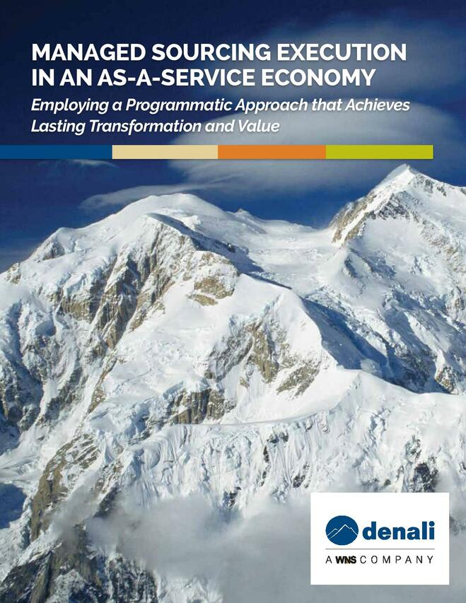 Managed Sourcing Execution in an As-a-Service Economy