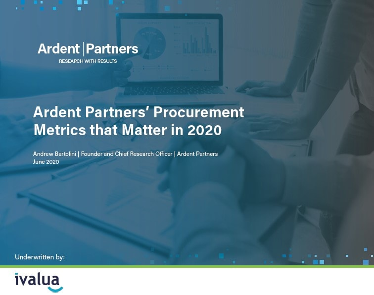 Ardent Partners Procurement Metrics that Matter in 2020