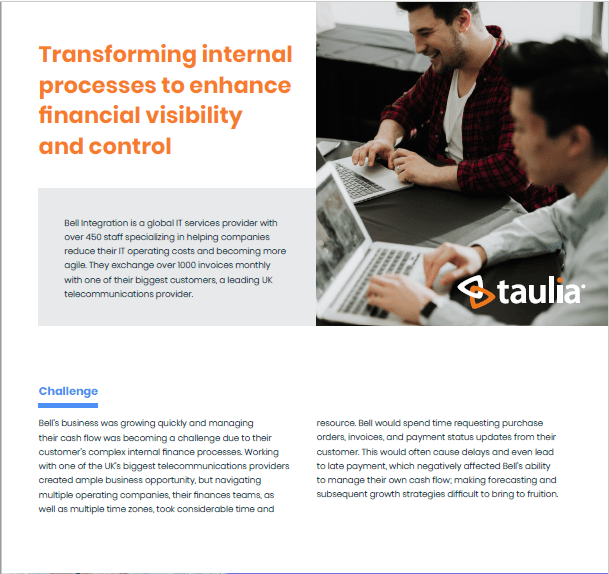 Bell Case Study: Transforming internal processes to enhance financial visibility and control