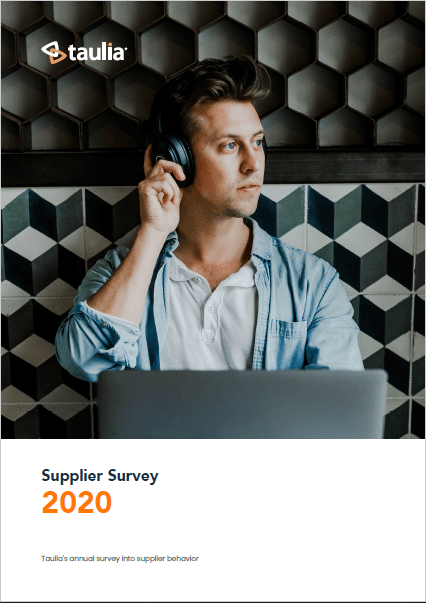 Supplier Survey 2020