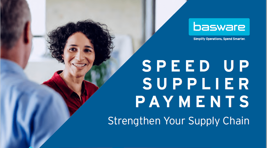 Infographic - Speed up Supplier Payments, Strengthen your Supply Chain