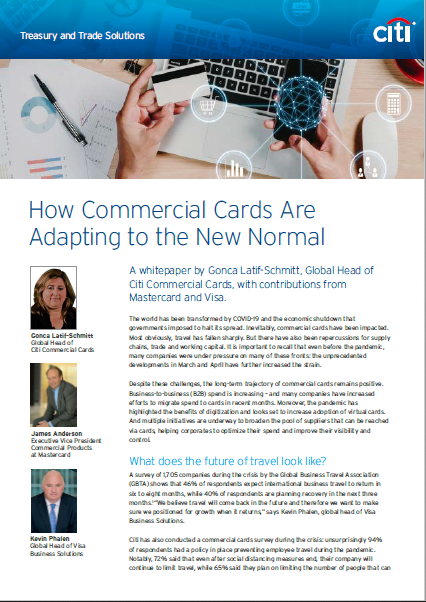 How Commercial Cards Are Adapting To The New Normal