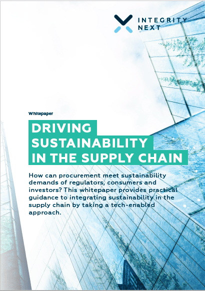Driving Sustainability in the Supply Chain