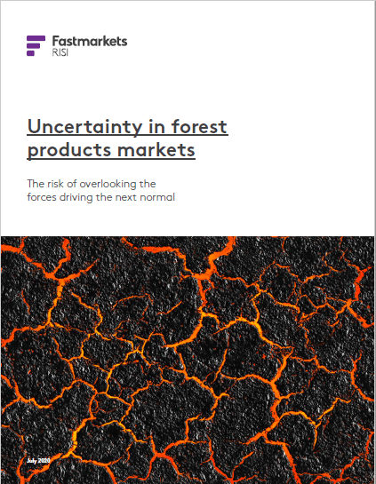 Uncertainty in forest products markets: The risk of overlooking the forces driving the next normal