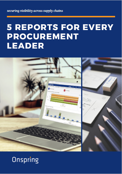Guide: 5 Reports for Every Procurement Leader