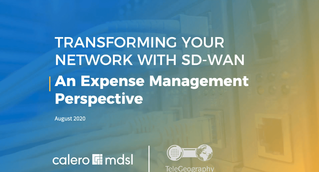 Transforming Your Network with SD-WAN
