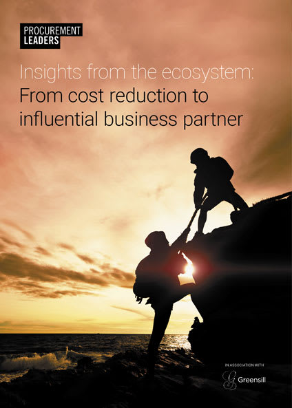 Insights from the ecosystem: From cost reduction to influential business partner