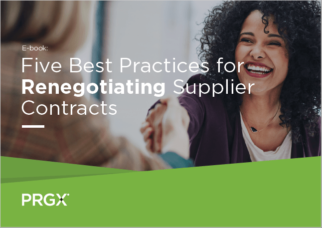 Five Best Practices for Renegotiating Supplier Contracts
